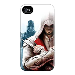 Iphone 4/4s OIo4772xwyG Assassins Creed Revelations Tpu Silicone Gel Case Cover. Fits Iphone 4/4s