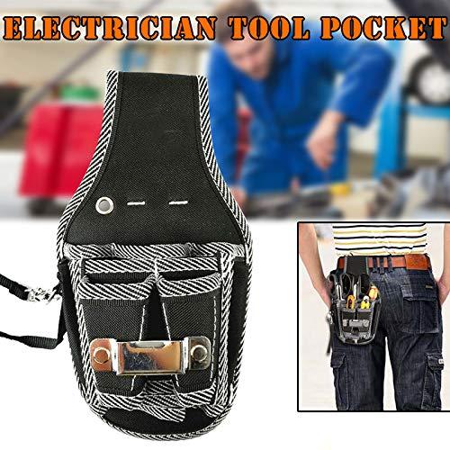 MAyouth 1 PC-Werkzeug H/üfttasche Taschen-Beutel-Halter-Reparatur Schraubendreher f/ür Elektriker