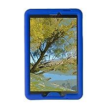 Bobj for Samsung Galaxy Tab E 9.6 (SM-T560, SM-T560NU), Tab E Nook 9.6 - BobjGear Protective Tablet Cover (Batfish Blue)