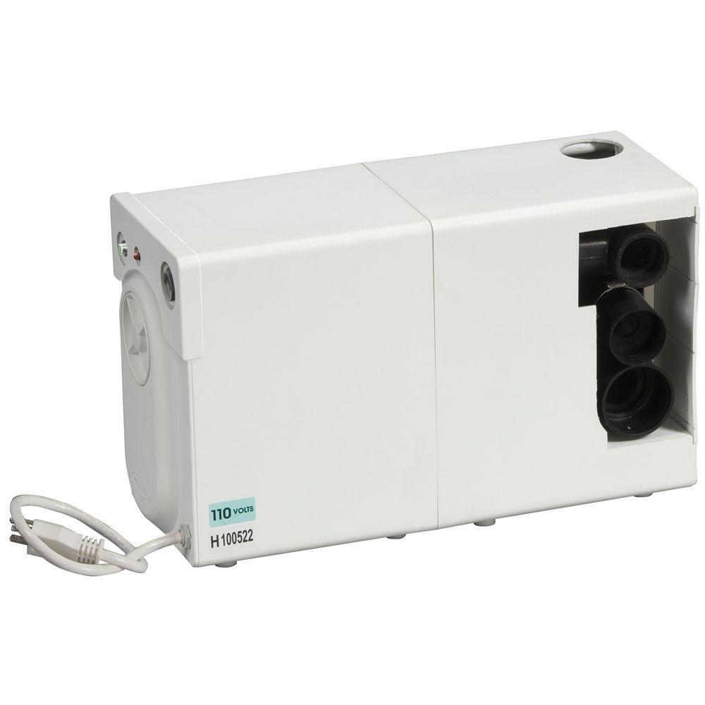 bathroom anywhere 38724 macerating pump system white power