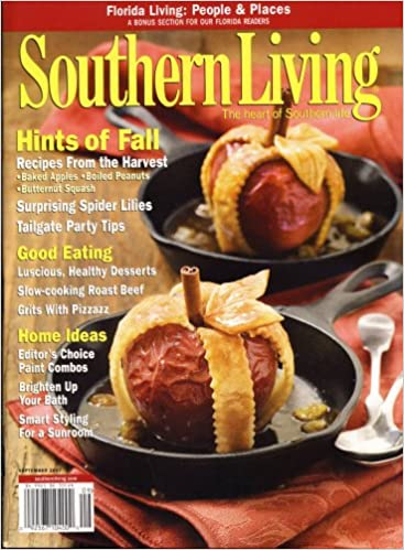Southern Living, September 2007 Issue: Editors Of SOUTHERN LIVING Magazine:  Amazon.com: Books