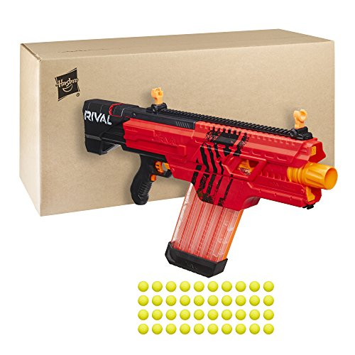 Nerf rival khaos mxvi 4000 blaster red toy in the uae for Nerf motorized rapid fire blasting