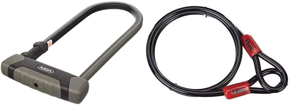 300 mm Eazy KF /& Cobra/27391 12//180 Steel Cable Loop Abus Granit XPlus 540 U-Lock 160HB300 Anti-Theft