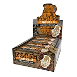 Grenade Carb Killa Protein Chocolate Bar | 23g High Protein Snack | Keto Friendly Low Net Carb Low Sugar | Gluten Free Nut Free Energy Bars | Caramel Chaos, 12 Pack