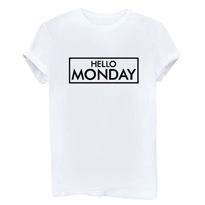 Camisetas Anchas Mujer Hombres Camiseta Camisas Para Damas Camisa Manga Corta Estampadas Señora Verano Remeras Poleras de Mujer Tops Cuello Redondo Blusas ...