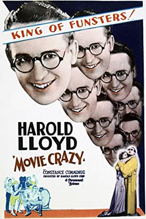 Harold Lloyd and Constance Cummings in Movie Crazy 24x36 ...