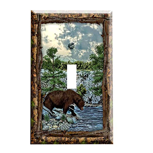 - Bear Lodge Switchplate - Switch Plate Cover