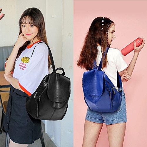 G-AVERIL - Bolso mochila  para mujer Rojo Red azul marino