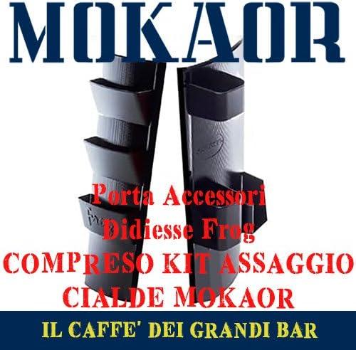 Mokaor capsules Didiesse Porte-accessoires kit pour sucre et palettes pour machine de caf/è Frog porte-verres