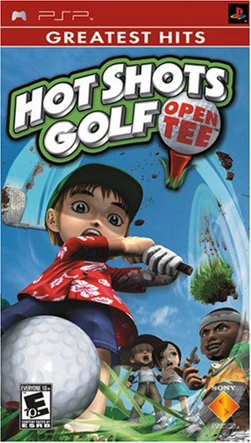 Hot Shots Golf Open Tee - Sony PSP