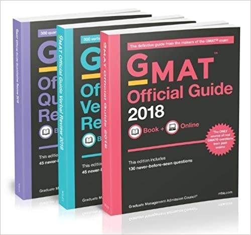 The Official Guide to the GMAT Review 2018 Bundle + Question Bank + Video