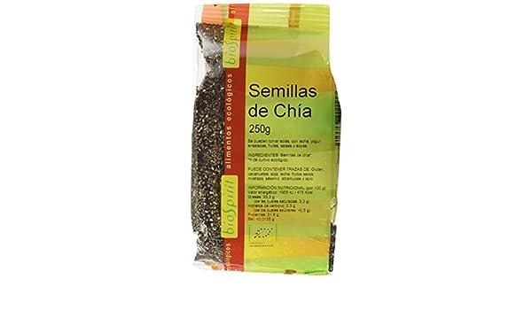 Biospirit Semillas de Chia Bio - 250 gr: Amazon.es: Alimentación y ...