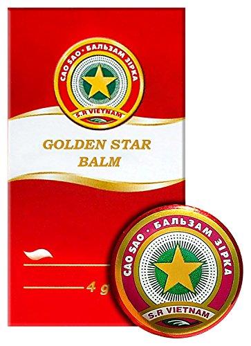 Golden Star Balm (Cao Sao Vang) 4g/0.14 ()