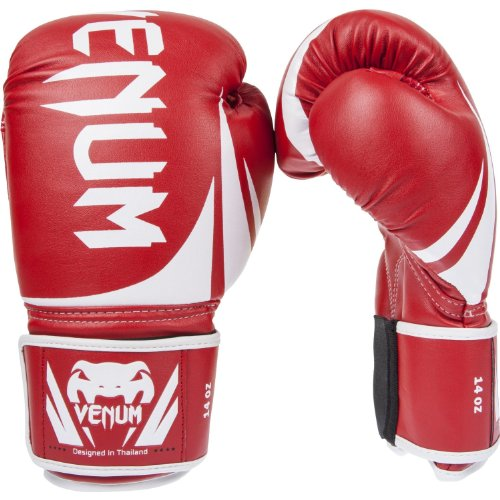 Venum Challenger 2.0 Boxing Gloves, Red, 14-Ounce