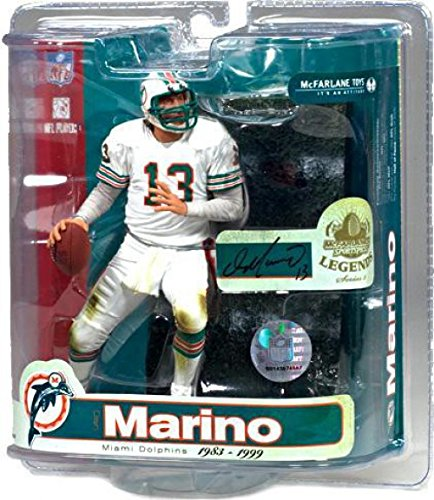 McFarlane Toys NFL Sports Picks Legends Series 3 Action Figure Dan Marino (Miami Dolphins) (Series Nfl Legends Mcfarlane)
