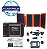 SatPhoneStore Iridium GO! Hiker Package with Solar Charger and Blank Prepaid SIM Card Ready for Easy Online Activation