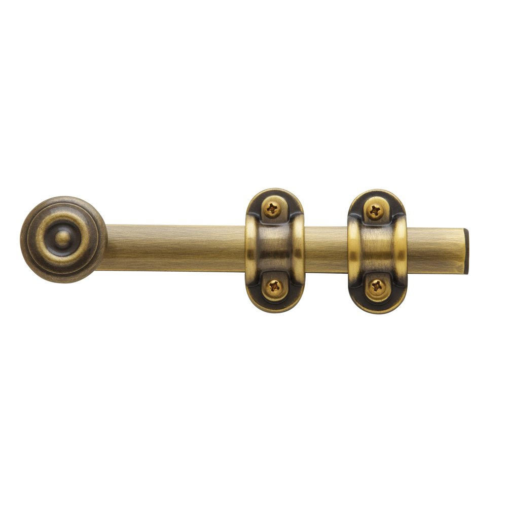 Baldwin Estate 0379.050 General Purpose Surface Bolt in Satin Brass, 6''