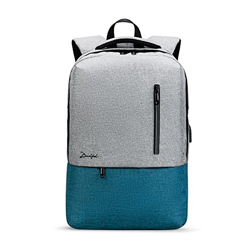 Young Fashion Man Bag Outdoor Backpack, 28.5 * 12 * 42cm, Blue Blue Blue Blue Gray Gray
