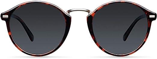 Meller Nyasa Collection - Gafas de sol polarizadas unisex UV400 minimalista rodondo
