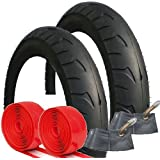 QUINNY BUZZ TYRE AND TUBE SET WITH ADDED PUNCTURE PROTECTION SIZE 12 1/2 X 2 1/4 by Rubena