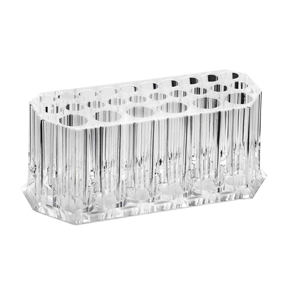 Frcolor Acrylic Cosmetic and Makeup Brush Holder Stand Organizer 26 Space