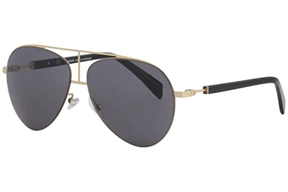 ffe6ca0a6aaf Sunglasses Balmain 2103 C01 Light Gold at Amazon Men's Clothing store:
