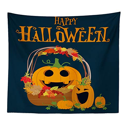 Funny Gravestone Names (Vovotrade Halloween tapestrycase Funny Pumpkin Print Home Decor Tapestry Hanging on Wall Suitable for Living Room)