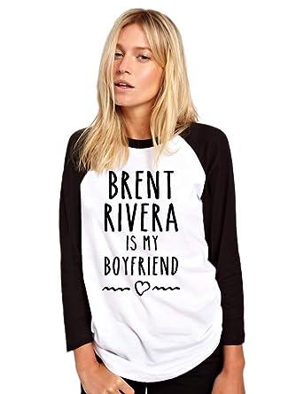 HotScamp Brent Rivera is My Boyfriend - Vlogger Star Merch Baseball
