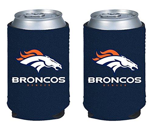 NFL  Can Kaddy Holder Cooler 2-Pack (Denver Broncos - Blue)