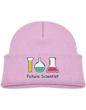 Kid's Beanie Future Scientist Cuffed Knit Hat Skull Cap