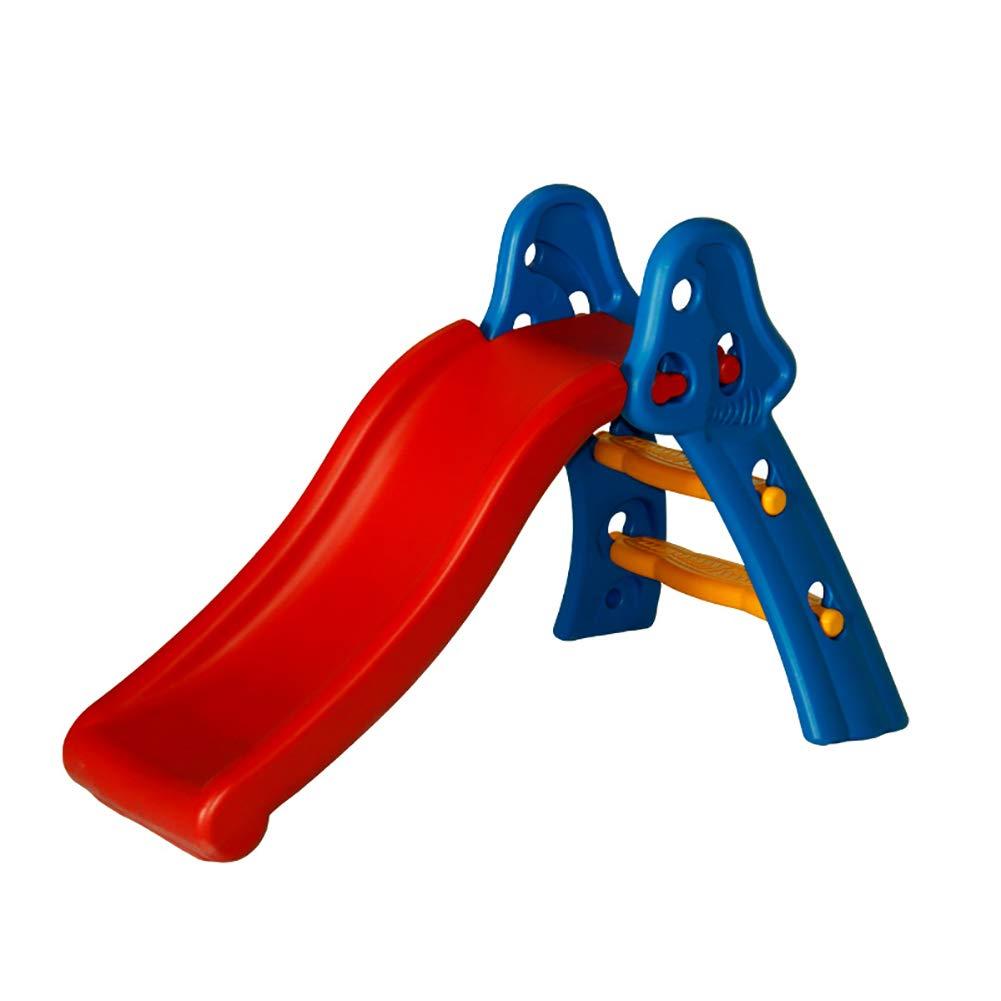 すべり台 子供のスライド屋内折りたたみ子供のスライドロングスライドベビー子供のシューティングバスケットのおもちゃ B07KWYFP22