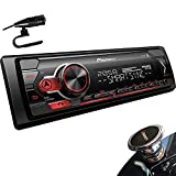 Pioneer MVH-S310BT Digital Media Receiver with Smart Sync App Compatibility, MIXTRAX, Built-in Bluetooth + Gravity Phone Holder