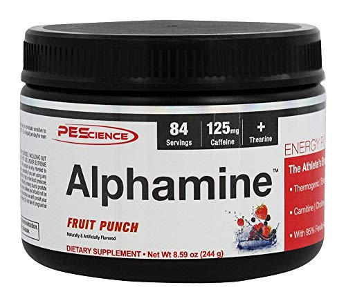 Physique Enhancing Science Alphamine Supplement, Fruit Punch, 8.59 Ounce