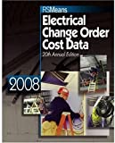 Electrical Change Order Cost Data, RSMeans, 0876290284