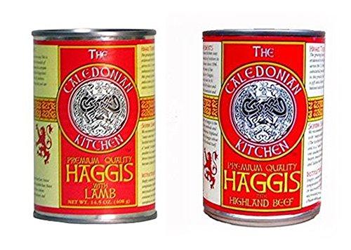 - Haggis Sampler 2 Pack, Lamb & Highland Beef