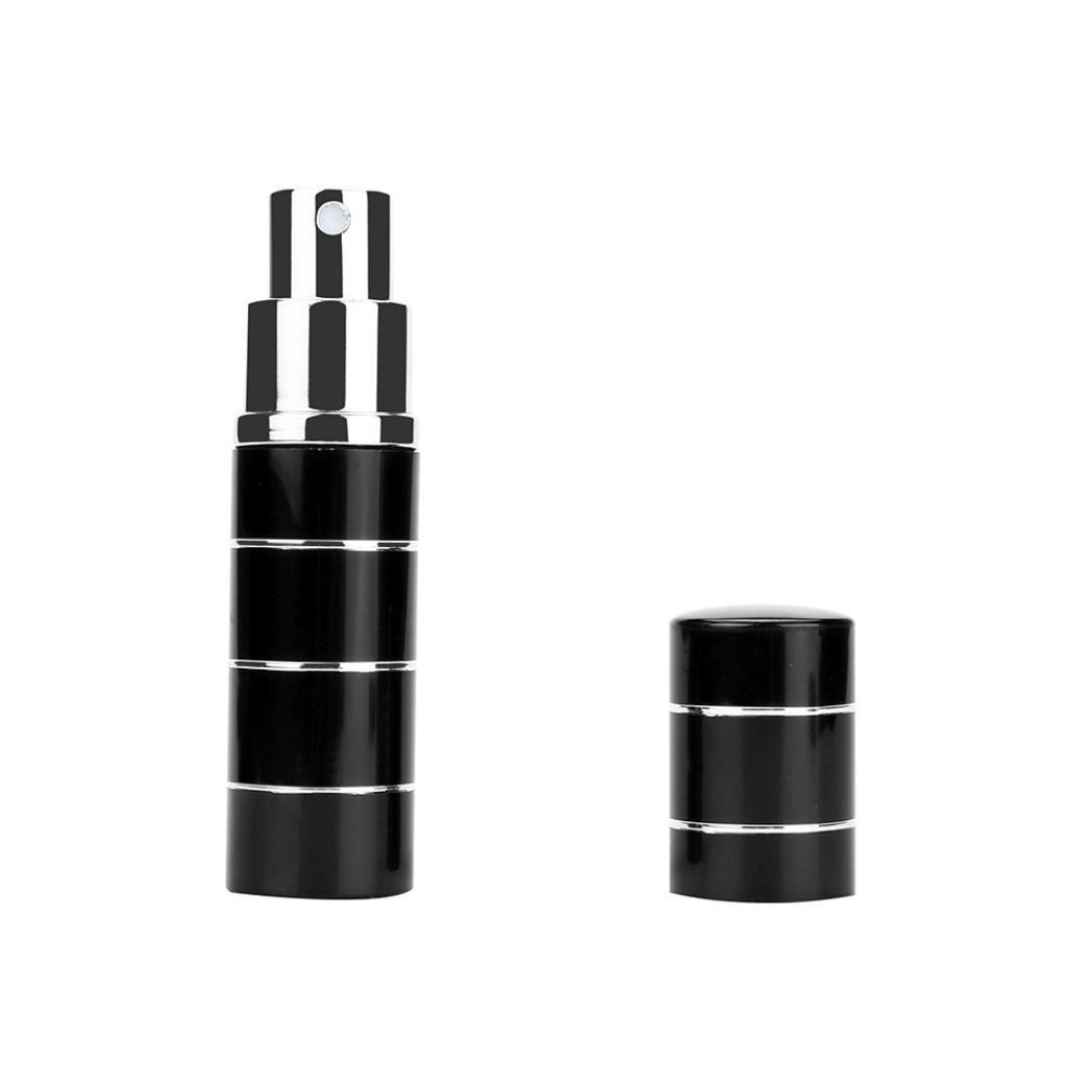 【在庫処分】 elaco 10 ( ml ( 0.35oz 0.35oz )旅行香水アトマイザー詰め替え可能ミニ香水スプレーボトルディスペンサーポータブル空旅行スプレー香りポンプケース B077X7QVND free size Elaco-MT-658 ブラック1 B077X7QVND, THE COVER NIPPON:1f91fdea --- egreensolutions.ca