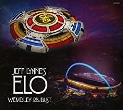 Wembley or Bust is a special release commemorating the June 24th, 2017 performance by Jeff Lynne's ELO at the famed Wembley Stadium in London, England. The Wembley or Bust album is available digitally, or physically as a 2 disc audio CD and a...