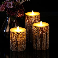 Vinkor Flameless Candles Flickering Candles Decora