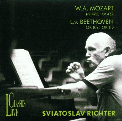 Mozart/Beethoven: Piano Sonatas by LIVE CLASSICS