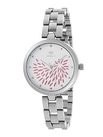 Reloj Marea Analógico Mujer B41243/3 Armis Acero y Esfera Rosa Claro: Amazon.es: Relojes