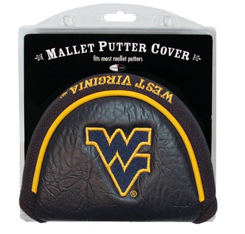 College Golf Putter (NCAA West Virginia Mountaineers Golf Mallet Putter Cover)