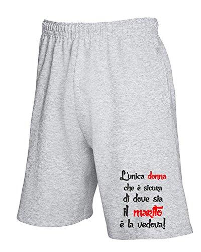 Unica Pantaloncini shirtshock Tuta Donna Sicura L Geek Fun Grigio T T0741 Cool l1FJTKc3