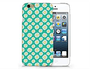 SUPERTRAMPshop - Floral Pattern Custom Cover Iphone 6 Full Protection Durable Hard Plastic Case