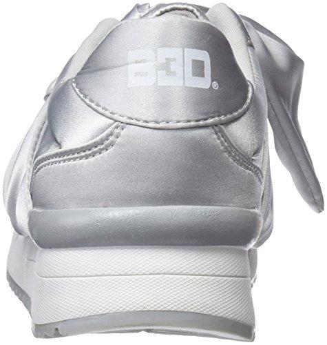 Blanco Zapatillas 41434 para bass3d Mujer Cordones Hielo sin nYa4qS5f