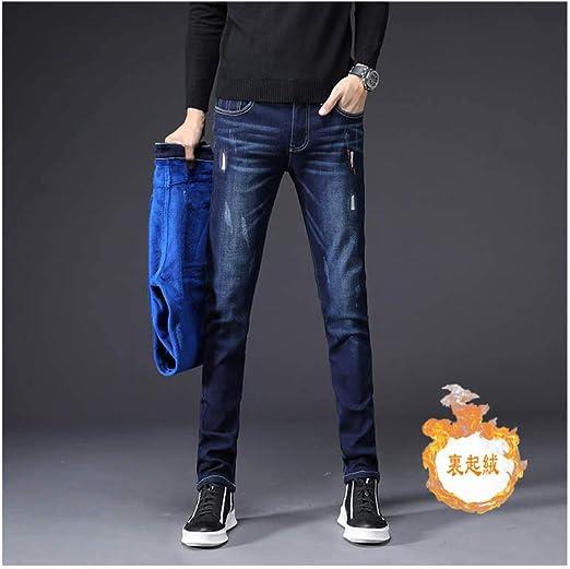 韓国ファッション スキニージーンズ スキニーパンツ カジュアルパンツ メンズ デニムパンツ ロング ジーンズ裏起毛
