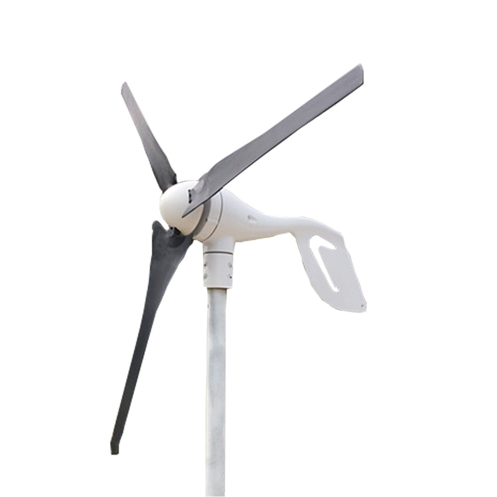 Nephon Popsport wind generator 300W hybrid wind generator DC 12V/24V turbine wind generator 3 vane household light power wind power generator by Nephon