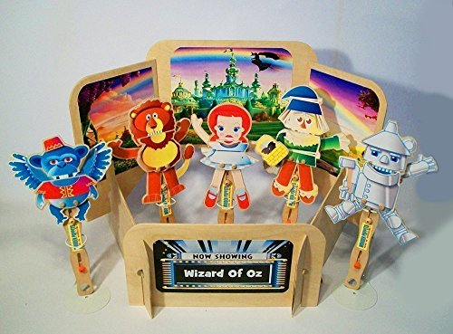 Wizard Of Oz Hand Puppets (Wizard Of Oz Puppet Show)