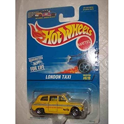 Hot Wheels London Taxi #619 1:64 Scale Collectible Collector Die Cast Car Mattel: Toys & Games