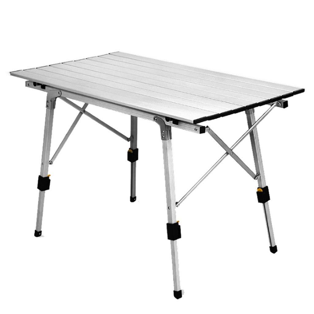 アルミニウム高さの調節可能な折りたたみ式テーブルのキャンプの屋外の軽量のキャンプ、バーベキュー、党およびピクニック B07S67YGG4