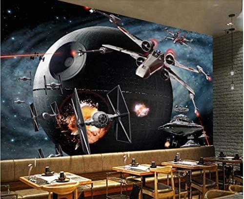 Wxlsl Papier Peint Fond D/Écran 3D Personnalis/é Star Wars Airplane Game Tooling Mur De Fond-150Cmx105Cm